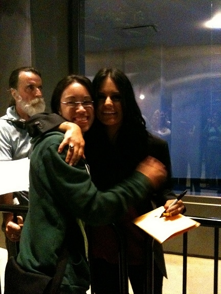 I met Pia at the American Idol tour stop in LA!