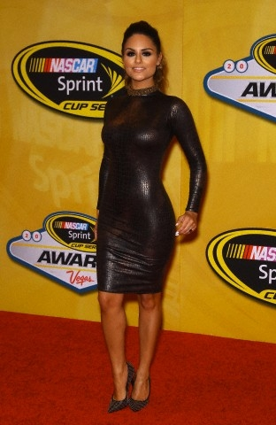 Pia Toscano at the NASCAR Sprint Cup Series Awards at the Wynn Hotel in Las Vegas #3