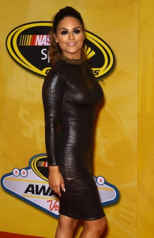 Pia Toscano at the NASCAR Sprint Cup Series Awards at the Wynn Hotel in Las Vegas #8