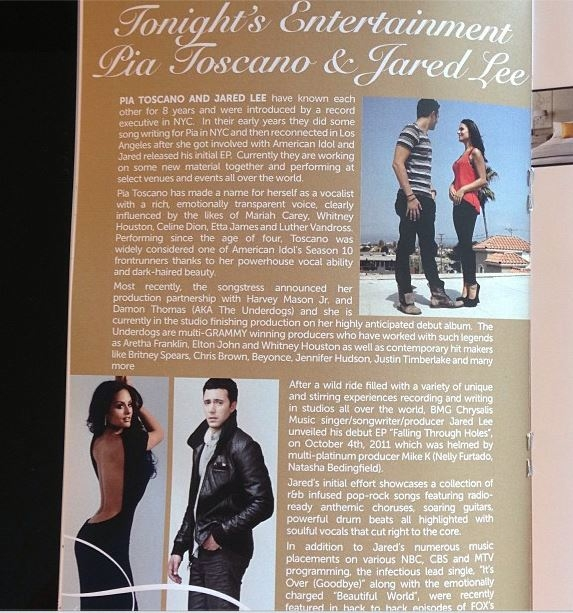 Pia Toscano and Jared Lee Get a Lovely Write-up at The Butterfly Ball