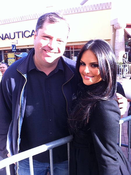 Me & Pia At The Citadel Outlets  - 11/19/11