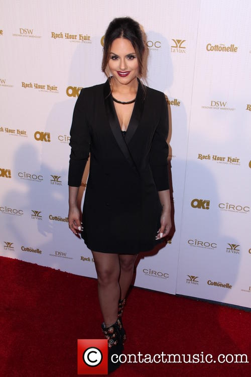 Pia Toscano at the OK! Magazine Pre-Oscar Party #5