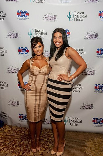 Pia Toscano and Jordin Sparks at the Divas In the Desert Gala 8