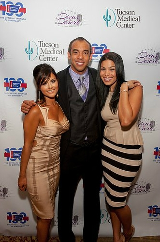 Pia Toscano, Harvey Mason Jr and Jordin Sparks at the Divas In the Desert Gala 10