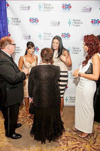 Pia Toscano and Jordin Sparks at the Divas In the Desert Gala 7