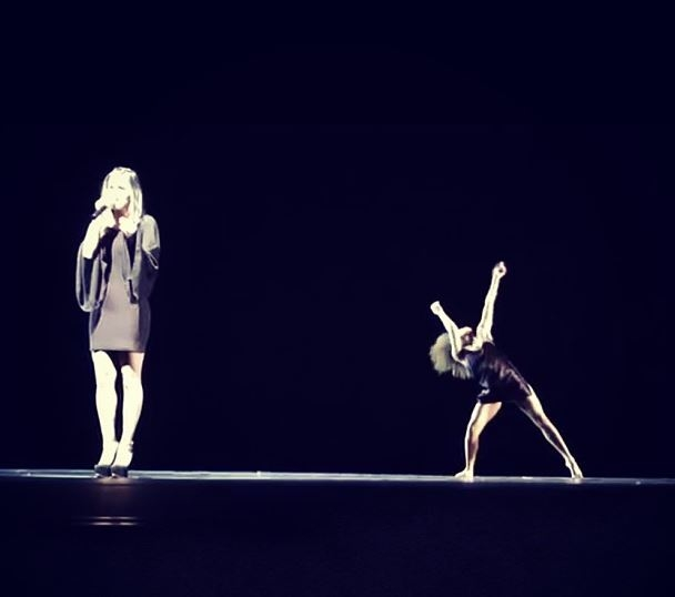 Pia Toscano Performing with Jasmine Mason at the Mather Dance Company Annual Show 7.28.13