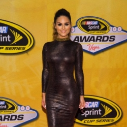 Pia Toscano at the NASCAR Sprint Cup Series Awards at the Wynn Hotel in Las Vegas #1