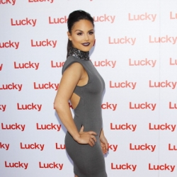 Pia Toscano at the Lucky Magazine Fashion and Beauty Blog Conference in Beverly Hills #5