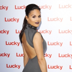 Pia Toscano at the Lucky Magazine Fashion and Beauty Blog Conference in Beverly Hills #7