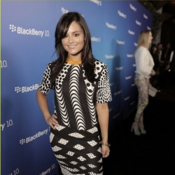 Pia Toscano at the BlackBerry Z10 Hollywood Launch Party March 20th