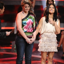 Pia Toscano & Lauren Alaina - Top 24 Results Show - American Idol Season 10 #2