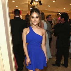 Pia Toscano Attends 24th Annual Race To Erase MS Gala #9