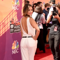Pia Toscano on the Red Carpet at the iHeartRadio Music Awards 5.1.14 #2
