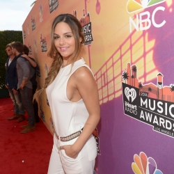 Pia Toscano on the Red Carpet at the iHeartRadio Music Awards 5.1.14 #6