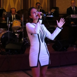 Pia Toscano Performing at the 19th Annual Angels on the Bay Benefit Ball at Russo's on the Bay 10.15.13
