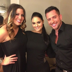 "Pia Toscano with David Hernandez and Gina Glocksen ""Ballroom With a Twist"""