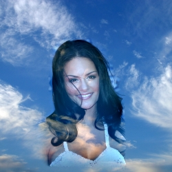 Our Beautiful Pia in the Clouds