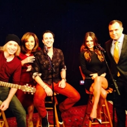 Pia Toscano, Jared Lee, Jeremy Bieber, Rosanna Scotto, and Greg Kelly on Good Day NY 11/18