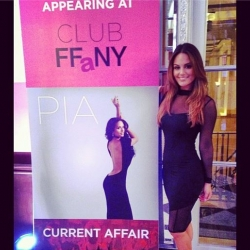 Pia Toscano at QVC's 20th Annual FFANY Gala #1