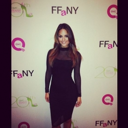 Pia Toscano at QVC's 20th Annual FFANY Gala #2