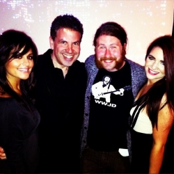 Pia Toscano, Michael Orland, Casey Abrams and Katie Stevens, Private Event March 17th 2013 #4