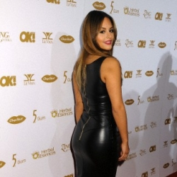 Pia Toscano at OK! Magazine's Pre-Grammy Party at LURE Nightclub #11