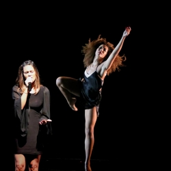 Pia Toscano Performing with Jasmine Mason at the Mather Dance Company Annual Show #13