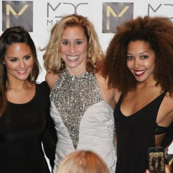 Pia Toscano Shannon Mather and Jasmine Mason at the Mather Dance Company Annual Show #16