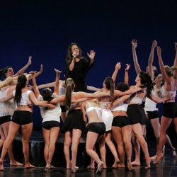 Pia Toscano Performing with the Mather Dance Company  #4