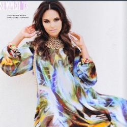 Pia Toscano in the Summer 2013 Issue of Neux Magazine #2