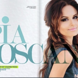 Pia Toscano in the Summer 2013 Issue of Neux Magazine #1