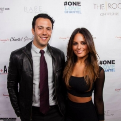 Pia Toscano and Jared Lee at the One Love Chantel Fundraiser 8.12.13