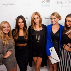 Pia Toscano at the One Love Chantel Fundraiser 8.12.13