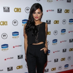 Pia Toscano at the 2013 OK! Magazine Pre-Oscar Party #1