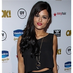 Pia Toscano at the  2013 OK! Magazine Pre-Oscar Party #4
