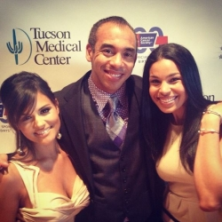 Pia Toscano, Harvey Mason Jr. and Jordin Sparks At the Divas In the Desert Gala