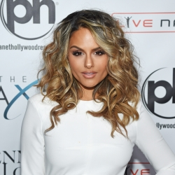 Pia Toscano On The Red Carpet At The Launch Of Jennifer Lopez: All I Have