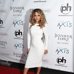 Pia Toscano On The Red Carpet At The Launch Of Jennifer Lopez: All I Have #4