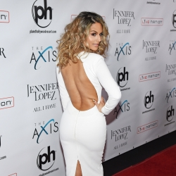 Pia Toscano On The Red Carpet At The Launch Of Jennifer Lopez: All I Have #5
