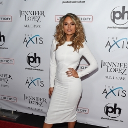 Pia Toscano On The Red Carpet At The Launch Of Jennifer Lopez: All I Have #8