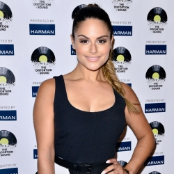 Pia Toscano Attends 'Distortion Of Sound' Premiere At The GRAMMY Museum 7/10/14