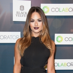 Pia Toscano Attends the Colaborator.com Launch Party 11/6/14