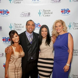 Pia Toscano, Harvey Mason Jr, Jordin Sparks and Jeannine Mason at the Divas in the Desert Gala 9