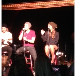 Pia & Jared The Cutting Room NYC 11/18/2013