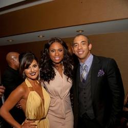 Pia Toscano, Jennifer Hudson and Harvey Mason Jr. at the Divas in the Desert Gala 4