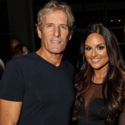 Pia Toscano and Michael Bolton at the Nail Files Pre