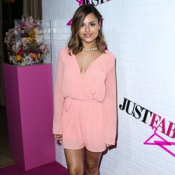Pia Toscano Attends The JustFab Apparel Launch Event - 4/1/15 #16