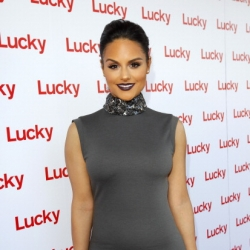 Pia Toscano at the Lucky Magazine Fashion and Beauty Blog Conference in Beverly Hills #2