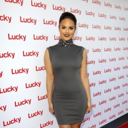 Pia Toscano at the Lucky Magazine Fashion and Beauty Blog Conference in Beverly Hills #3