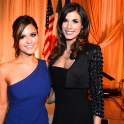 Pia Toscano and Elisabetta Canalis at the Points of Light Tribute Awards #3